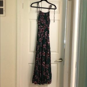 Free people never worn maxi dress